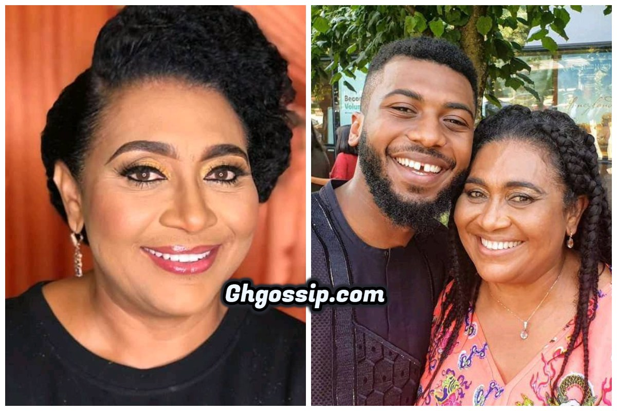 After Giving Birth To Her Son At Age 16, See The Grown-Up Son Of Veteran Actress Hilda Dokubo – Photos