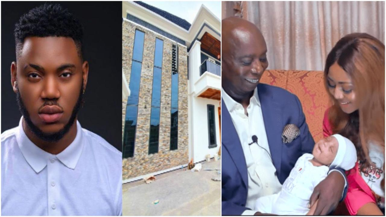 REVEALED!: Ned Nwoko Allegedly Bought A Mansion Worth ₦100 Million In Banana Island For Regina Daniels' Ex-Boyfriend, Somadina