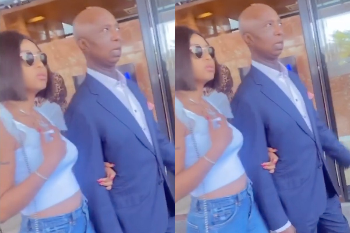 Perfect Couple: Ned Nwoko & Regina Daniels Storm Town With Their Kid, Munir & Social Media Users Can't Keep Quiet