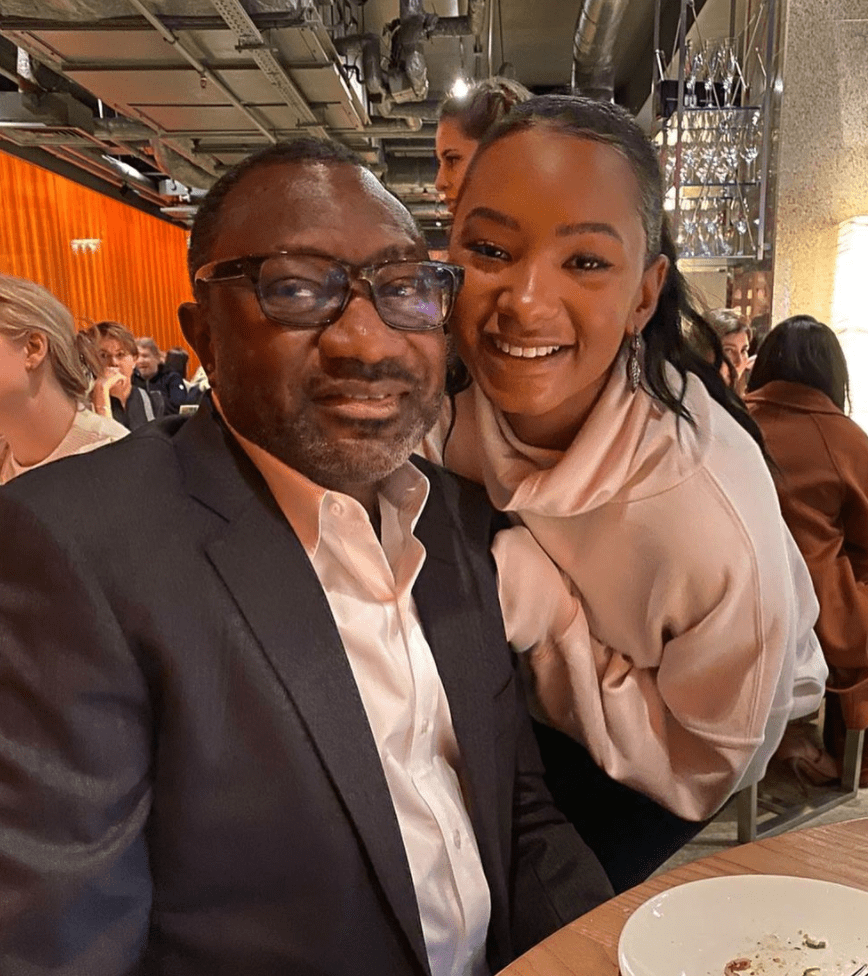 Check Out The Name Billionaire, Femi Otedola Uses To Call His Daughter, Temi At Home