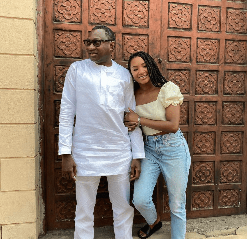 Is Femi Otedola Forcing His Daughter, Temi To Get Married?