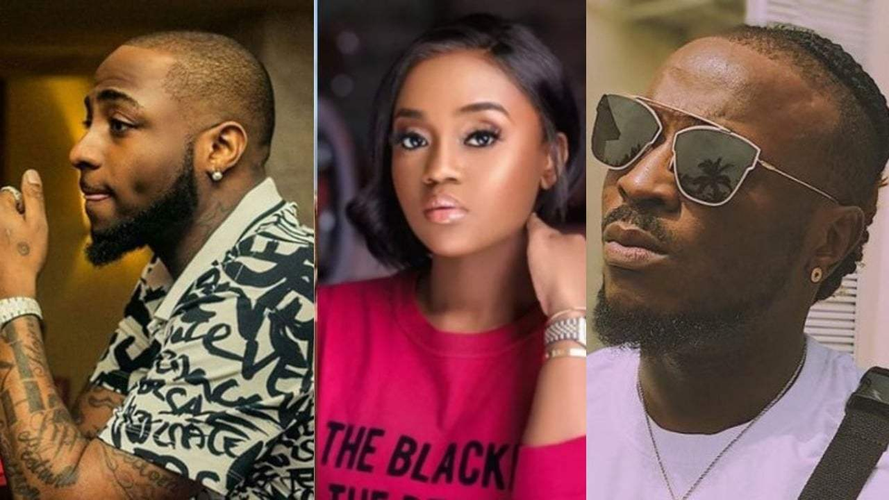 """Davido Cannot Write """"Chioma I Love You"""" Without Perruzi's Help – Fans Goes Haywire On Twitter"""