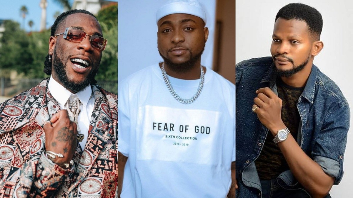 Empty Drums Makes The Loudest Noise – Uche Maduagwe Shades Davido As He Congratulates Burna Boy