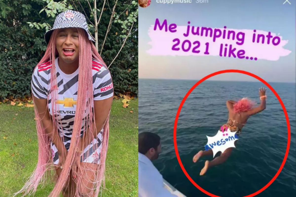 'Please Someone Should Check If She Survived' – Worried Fan Wants To Know If DJ Cuppy Is Still Alive After She Jumped Into The Ocean