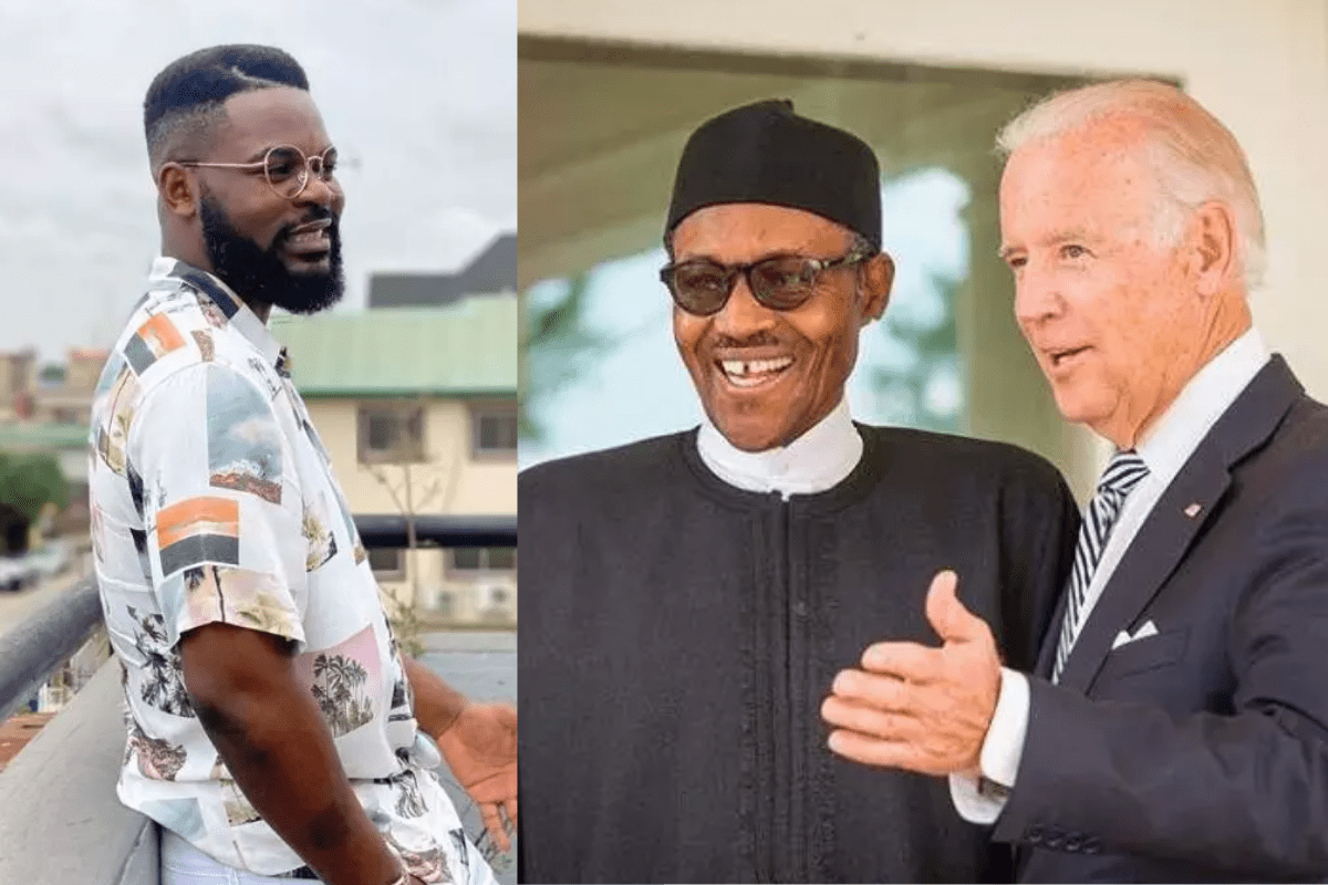 Hours After Buhari Sent A Congratulatory Message To Joe Biden, See What Falz Said To Him