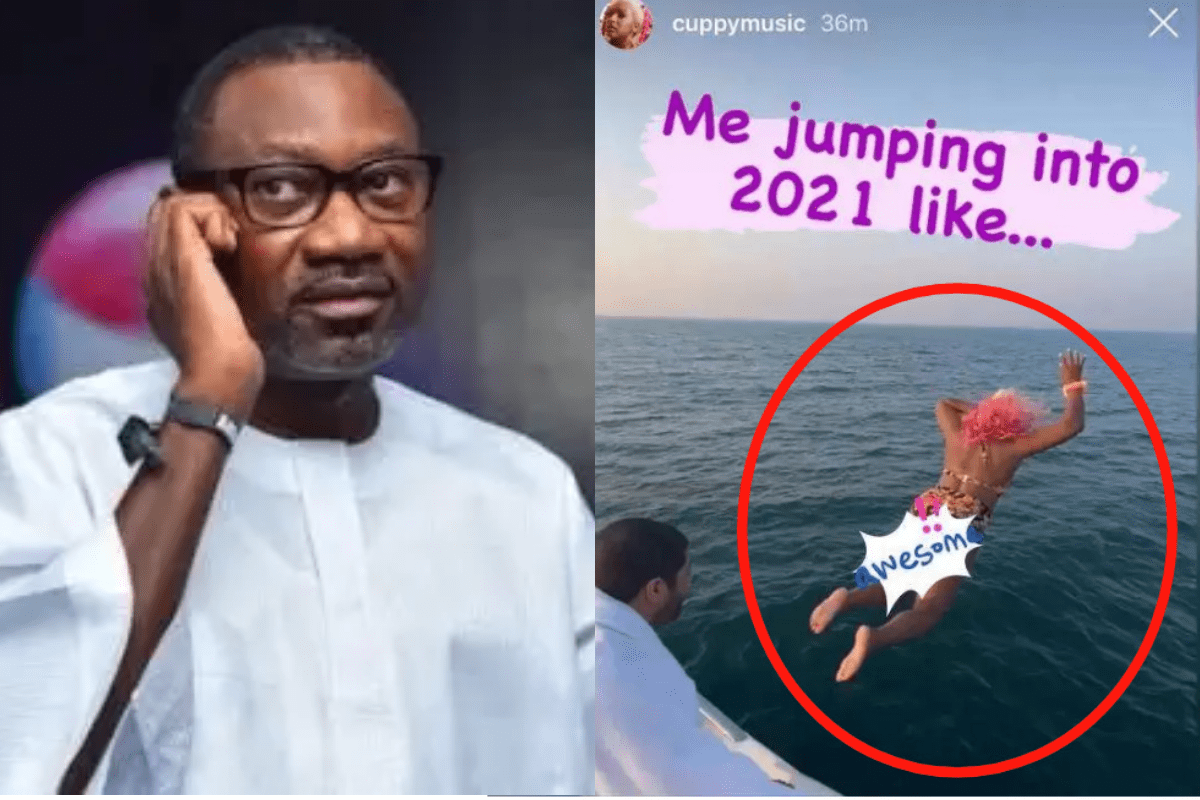 Billionaire Femi Otedola Left In Shock Hours After His Daughter DJ Cuppy Jumped Into The Ocean