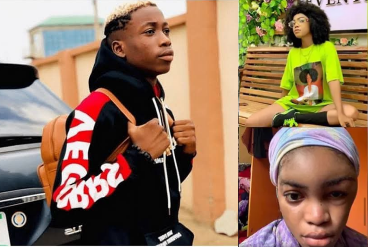 I'm Really Disgusted – Lil Frosh's Girlfriend Calls Him A Liar After Denying Beating Her In A Recent Interview