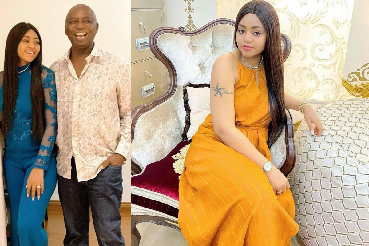 """""""Na True Say Ur Husband Want Marry Another Wife?"""" – Fan Asks Regina Daniels After She Posted This Photo"""
