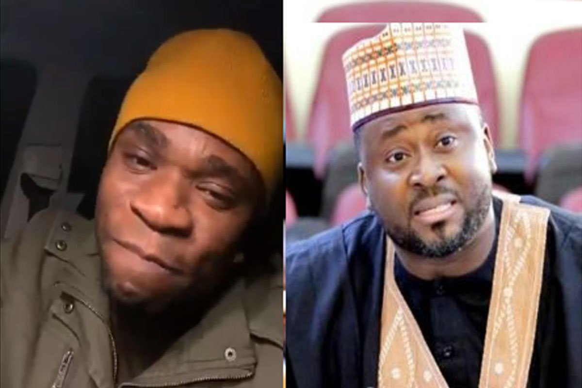 """I Will Swallow You"" – Speed Darlington Roasts Desmond Elliot Over His Comments About The Youth (VIDEO)"