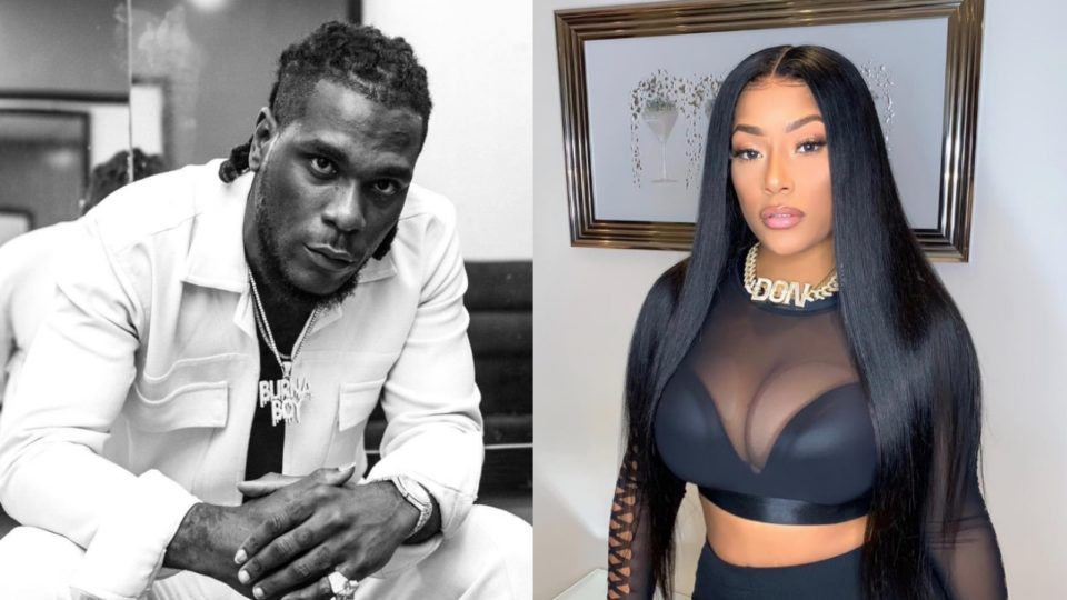 Burna Boy Trashes Break Up Rumor With His Girlfriend Stefflon, See What He Did