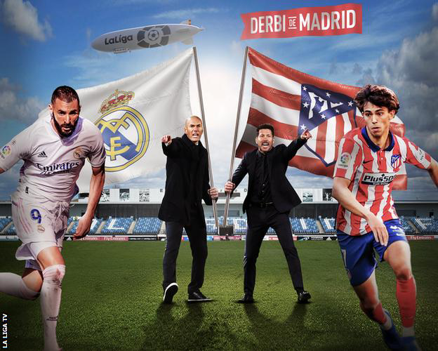 STREAM LIVE: Real Madrid Vs Atletico Madrid [Watch Now] LA LIGA 2020/2021 #RMAATM  #FOOTBALL #LALIGA
