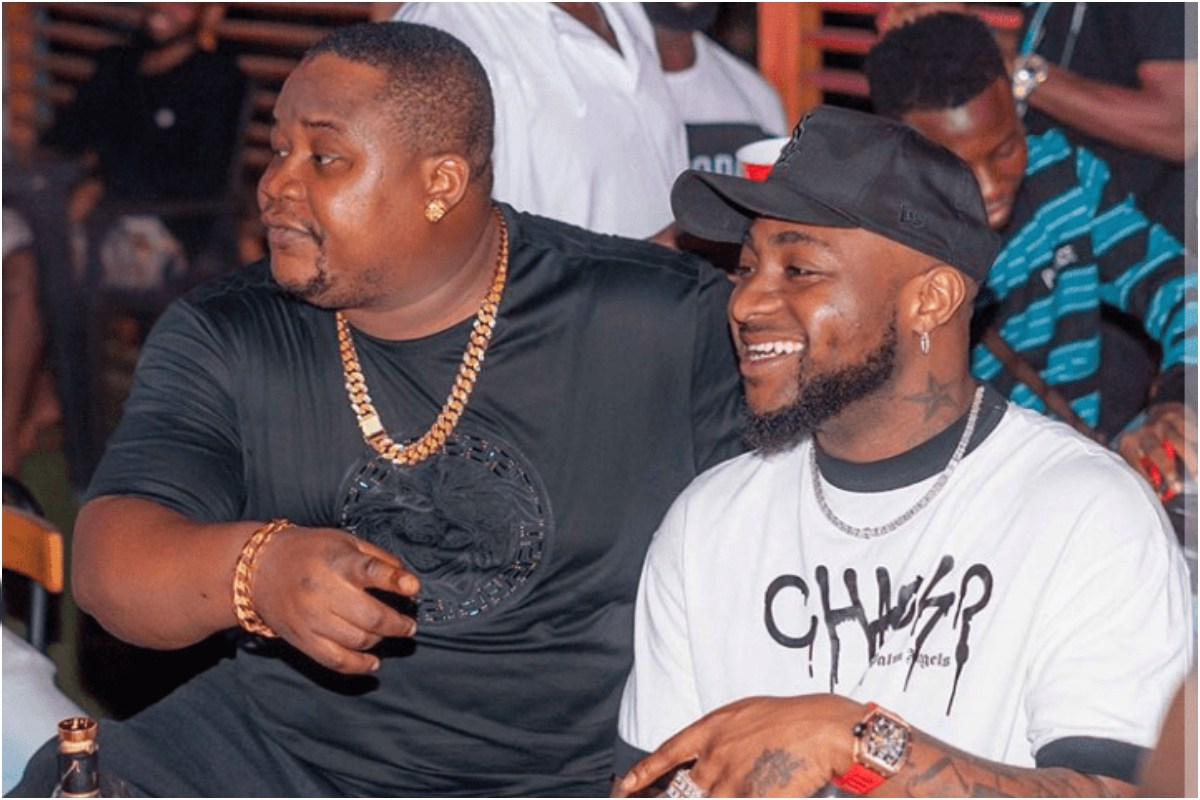 """""""Na Me Go Open Am"""" Cubana Chief Priest Leaks Private Chat With Davido"""