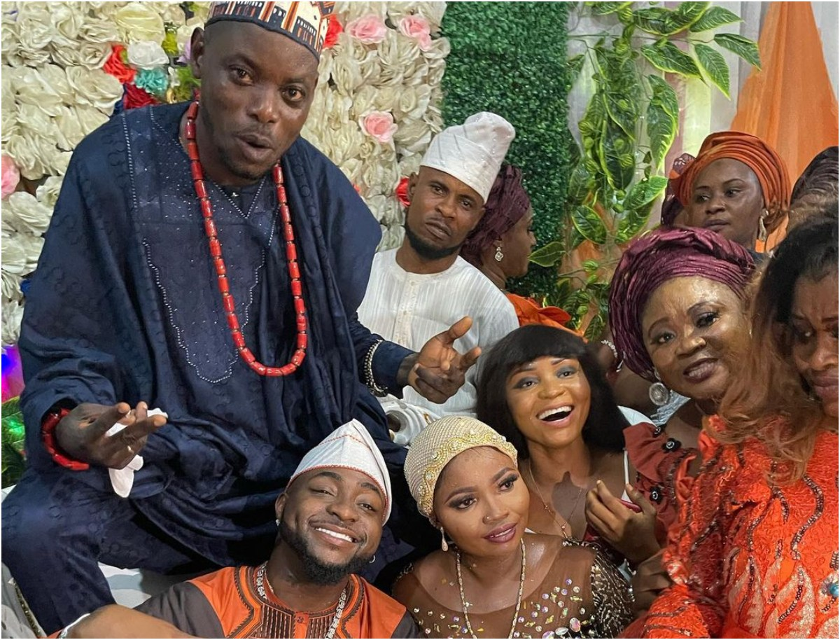 Davido With A Heart Of Gold – Reactions As Davido Attends Driver's Wedding In Style