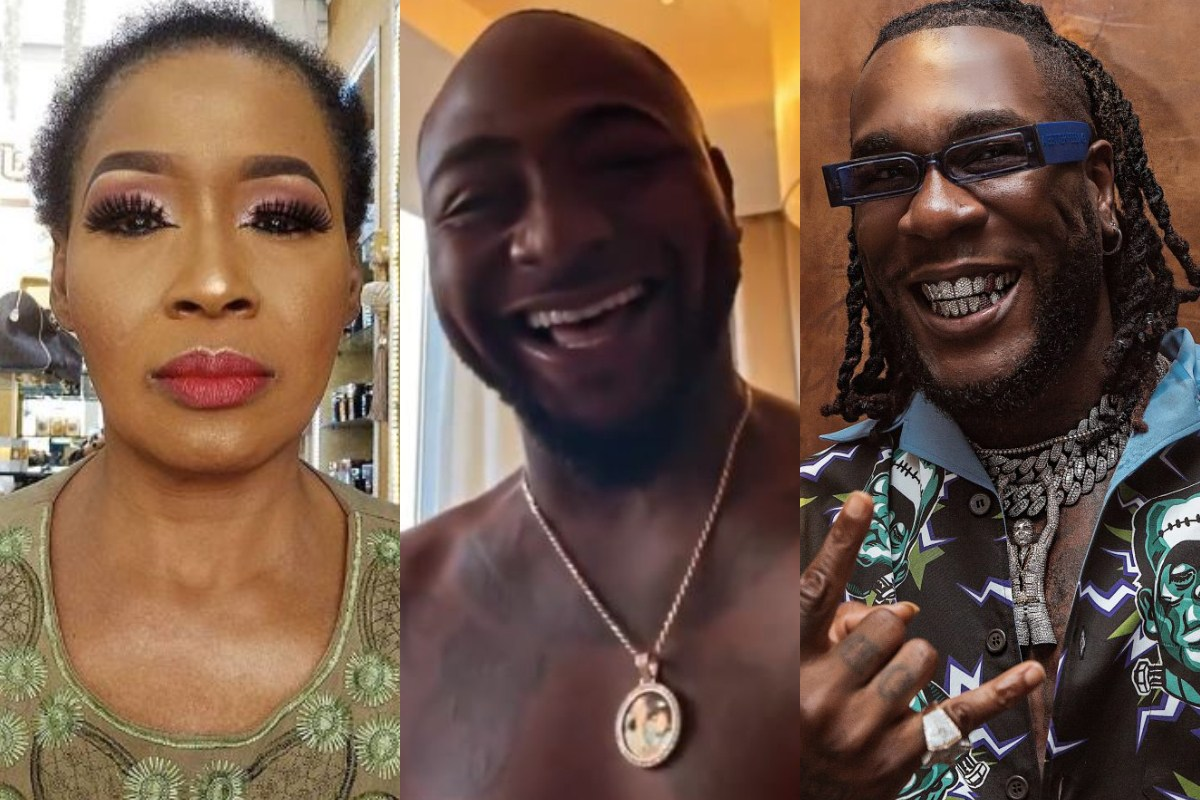 Nigerians Hail Kemi Olunloyo For Her Advice To Burna Boy And Davido After Dirty Fight In Ghana