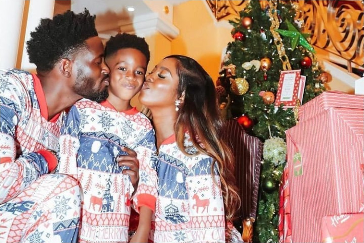 Family Is Everything: Tiwa Savage And Ex-Husband TeeBillz Reunites With Each Other In Dubai