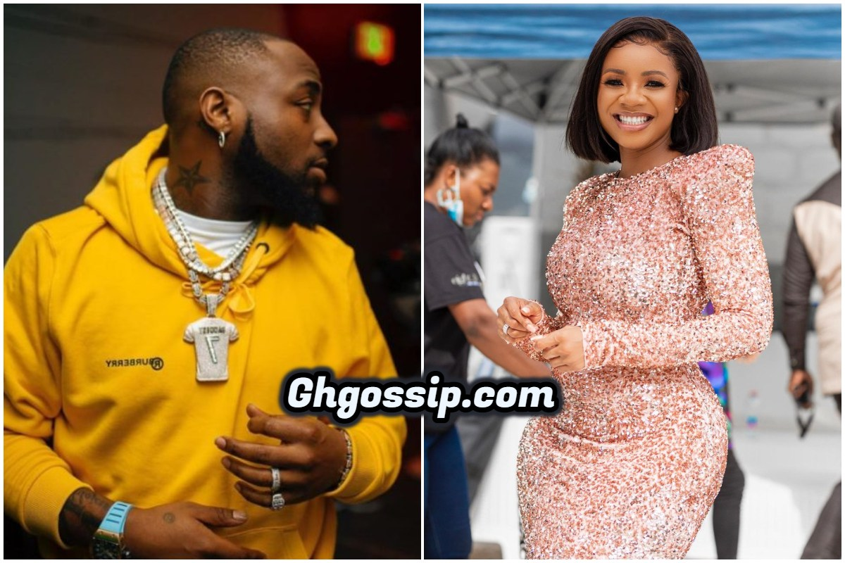 """""""Davido Doesn't Have A Child With Serwah Amihere, They Only Dated"""" – Blogger Exposes Journalist"""