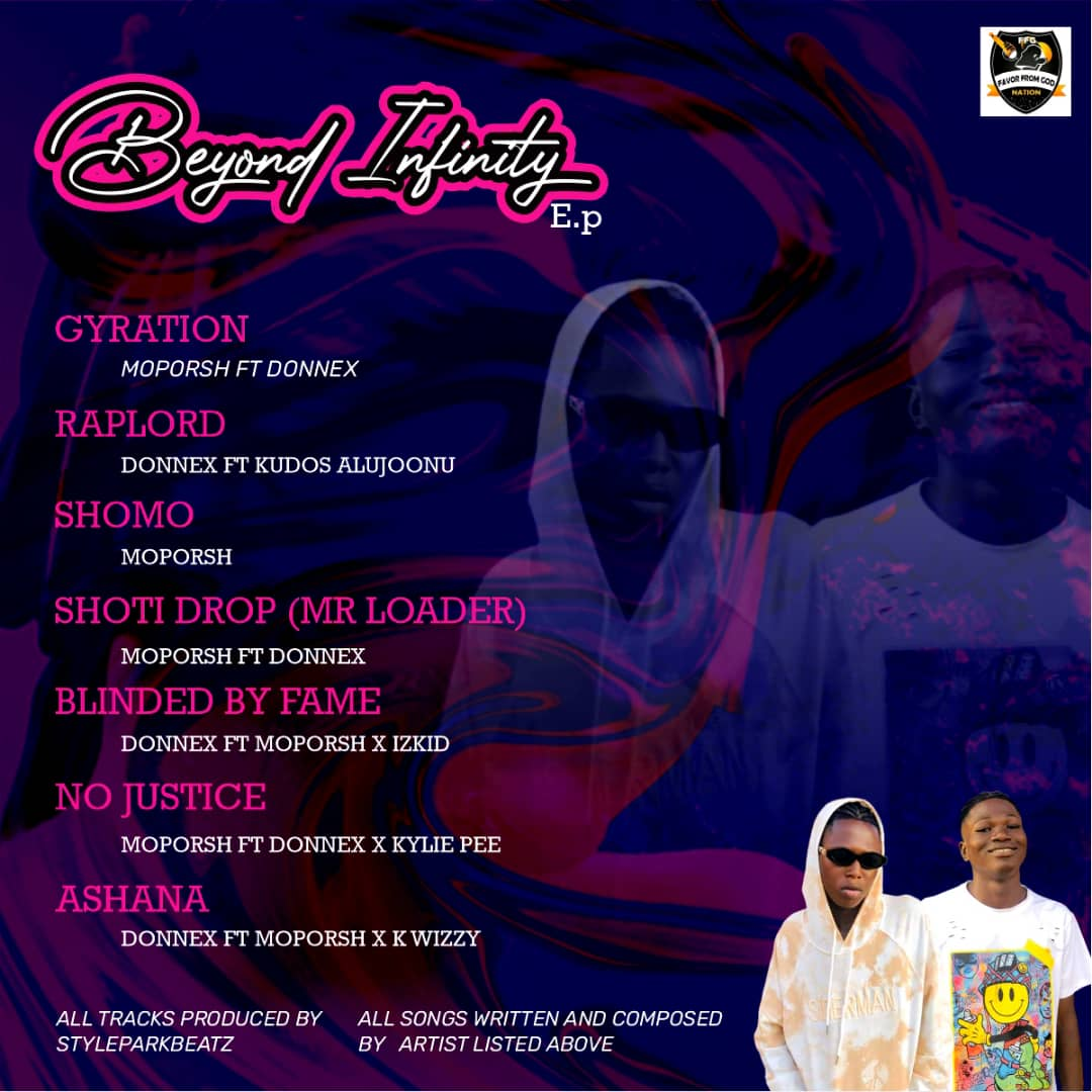 FULL ALBUM : Moporsh & Donnex – Beyond Infinity EP min