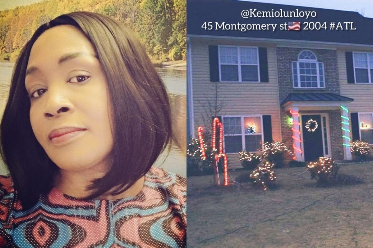 Check Out The Multi-million Dollar Mansion Kemi Olunloyo Built In The US In 2003 & Later Sold It In 2006