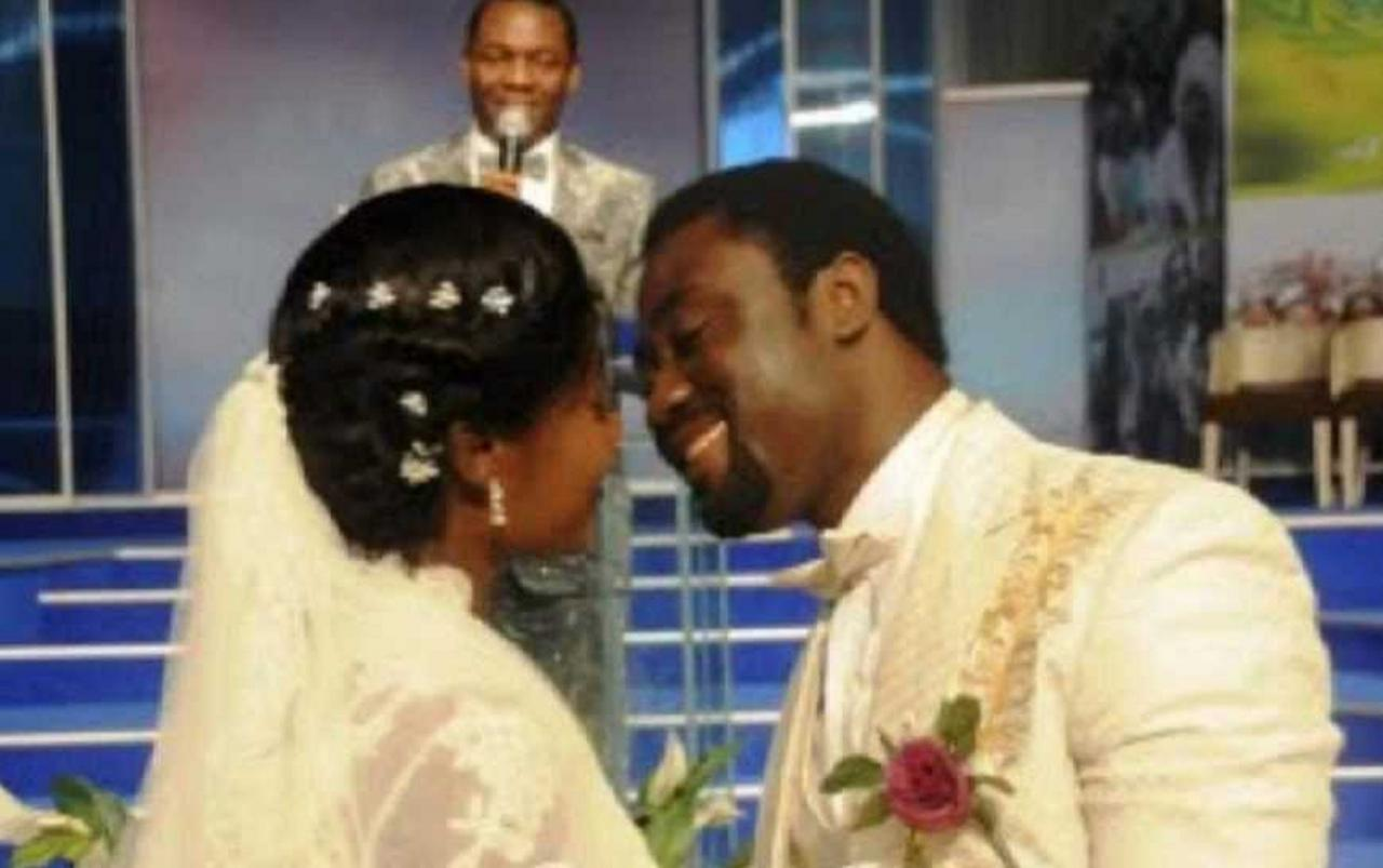 Throwback Wedding Video Of Mercy Johnson And Husband Prince Odianosen (Video+Photo)