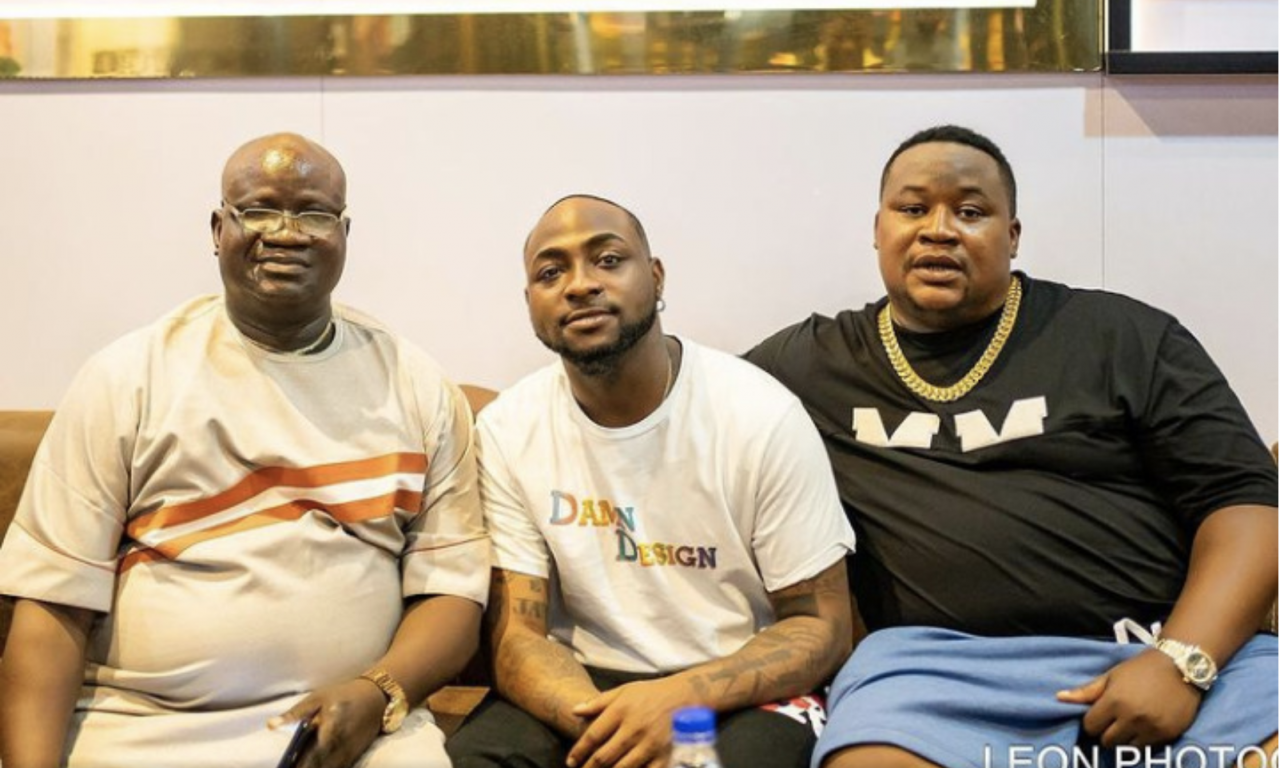 Cubana Chiefpriest Shares New Lovely Photos With His Father And Davido