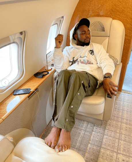Davido Travels Out Of Nigeria Without His Fiancee [Video]