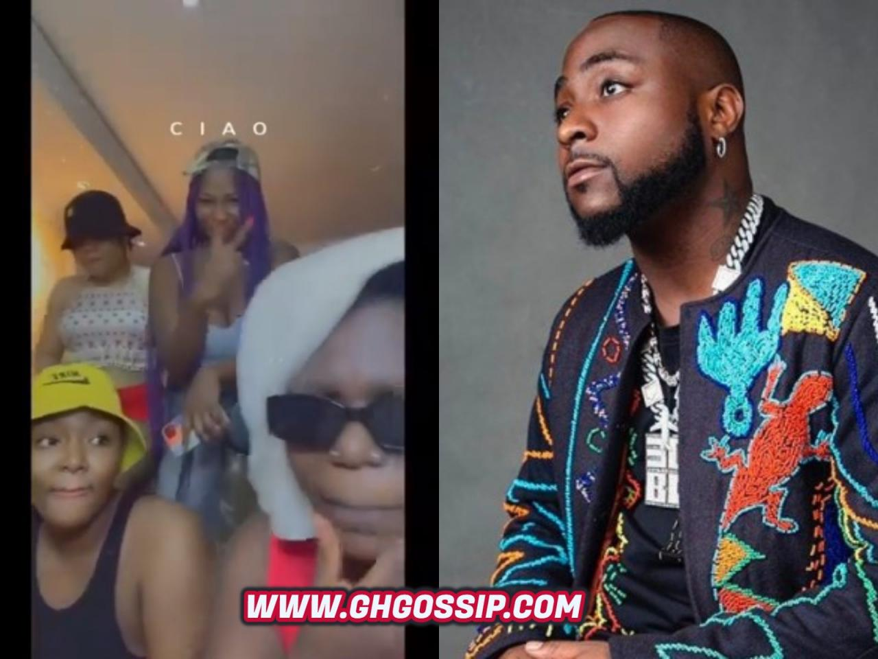 Lady Composes Song For Davido's 'Tule Challenge'
