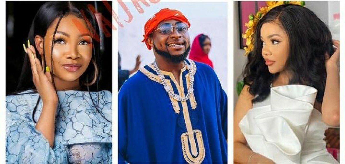 Fan Mocks Tacha For Being Ignored By Davido After Drawing Him In The Middle Of Her Melons