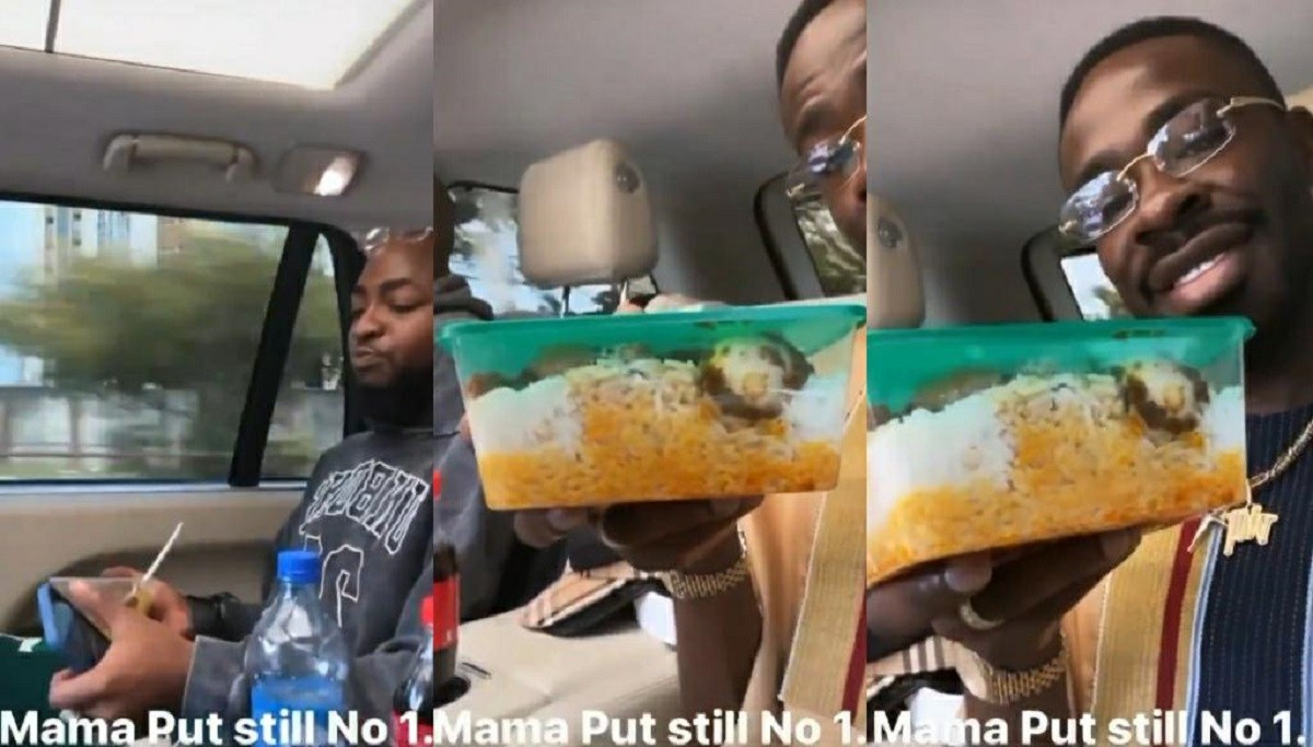 Street Honourables – Netizens React To Video Of Davido And His Lawyer Enjoying Street Food