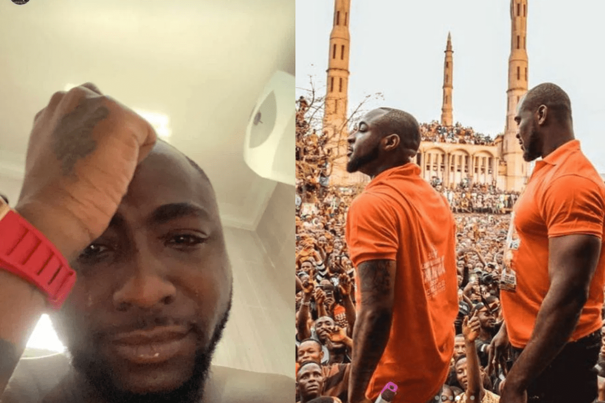 What Would I Do Without You – Davido Breaks Heart As He Reacts To The Death Of His Personal Bodyguard