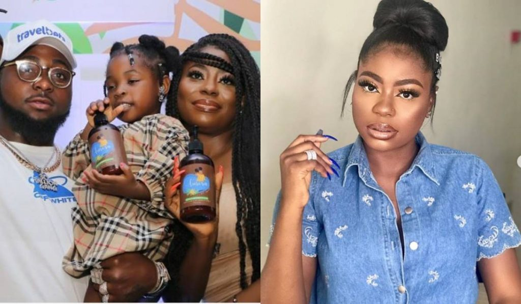 Davido's Baby Mama Reveals How She Felt When Her Daughter, Imade Told Her She Can't Wait To Grow Up