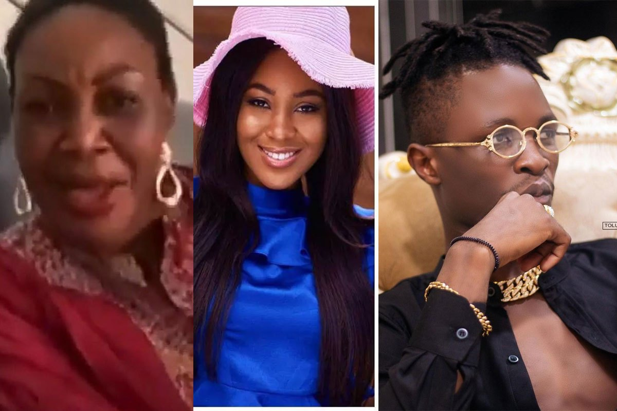 """""""They Wanted To Go And Kill Laycon"""" – Erica's Mum Mistakenly Reveals Says During Live Video"""