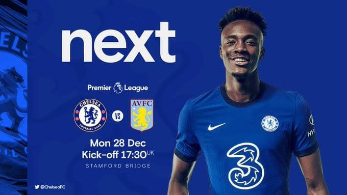STREAM LIVE: Chelsea Vs Aston Villa [Watch Now] Premier League 2020/2021 #CHEAVL #EPL #CFC #CHELSEA #FOOTBALL