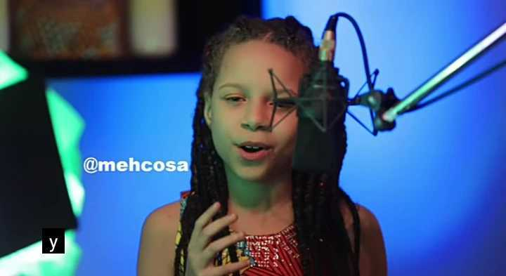 Nigerians Praise Little British Girl For Her Beautiful Cover of Davido's Jowo Song (VIDEO)