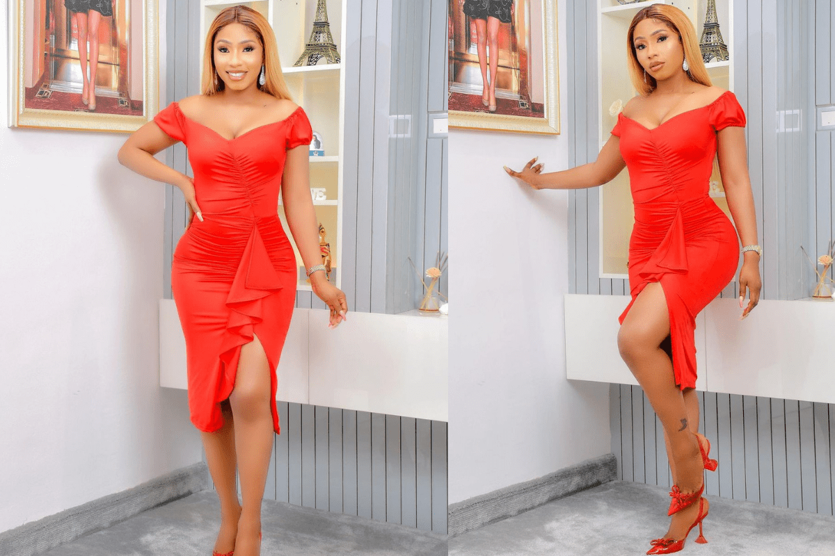 Fan Expresses Disappointment With Mercy Eke's Shoes