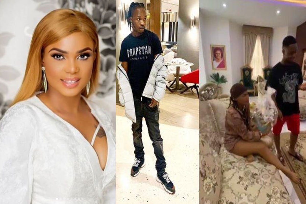Iyabo Ojo Becomes A Marlian After A Pleasant Surprise From Naira Marley (VIDEO)