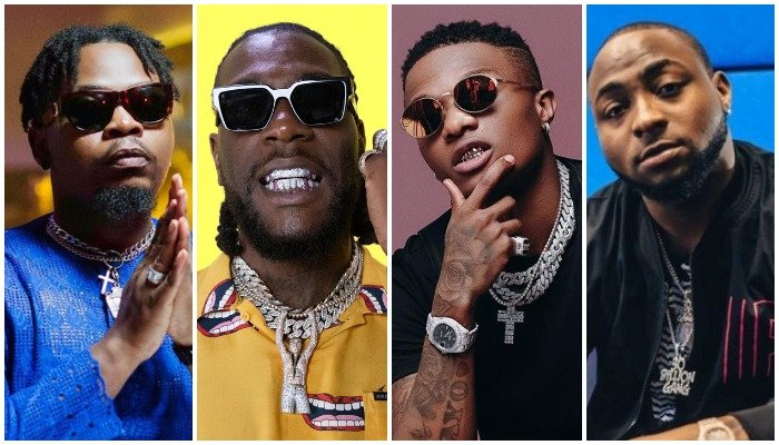 MUSIC LOVERS!! Olamide, Burna Boy, Wizkid & Davido – One Artiste Must Go From The A-list Category, Who Are You Deleting?