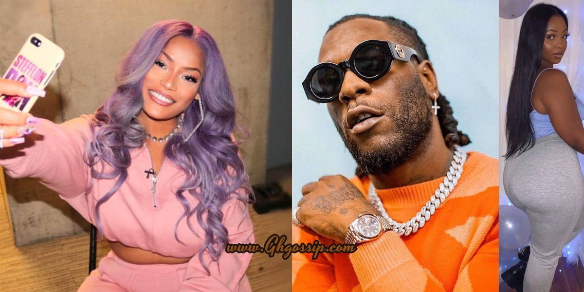 Stefflon Don And Burna Boy's Relationship Possibly Set To Collapse After Side Chic Of Burna Boy Who Says They're Going to Have Twins Popped Up