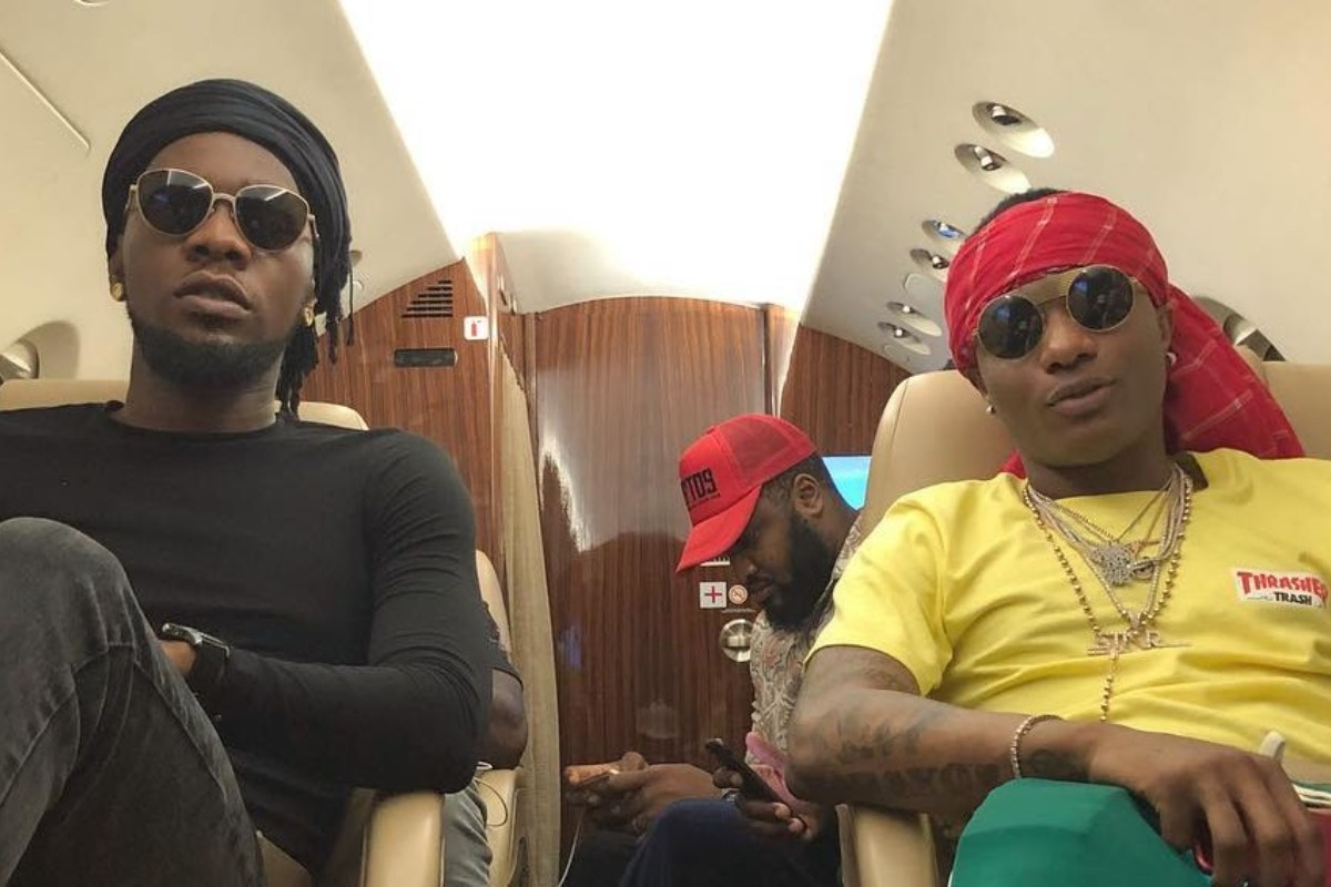 """""""You Have To Perform 'Abule' At My Wedding"""" – Wizkid Tells Patoranking (Video)"""