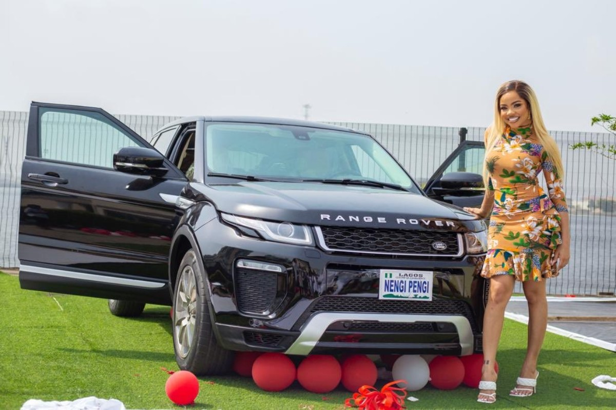 Nengi Pens Down Appreciative Note To Her Fans For Gifting Her A Range Rover On Her Birthday (Photos)