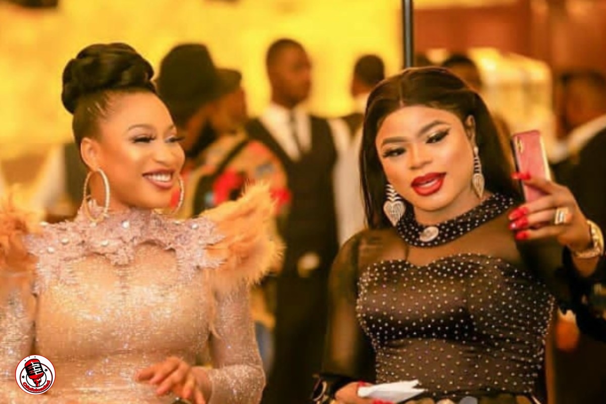 Bobrisky Reveals Why He No Longer Hangs Out With Bestie Tonto Dikeh