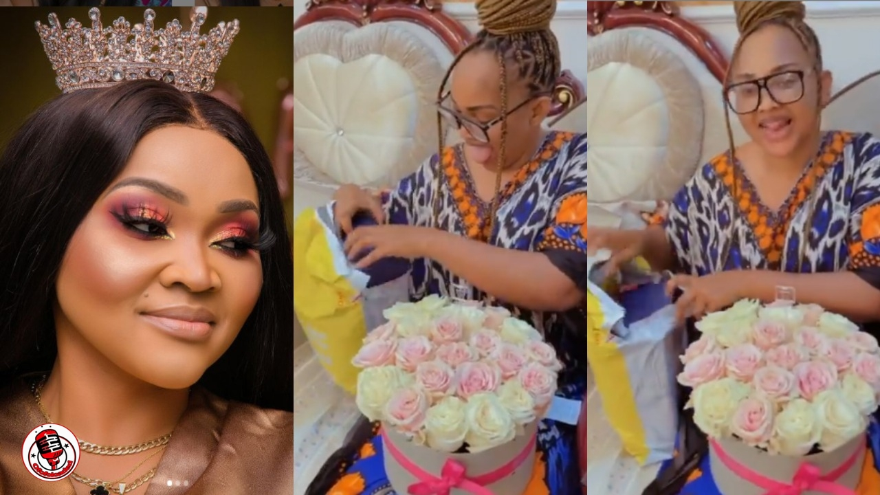 Mercy Aigbe shares video of the birthday gifts she got from her fans | Watch