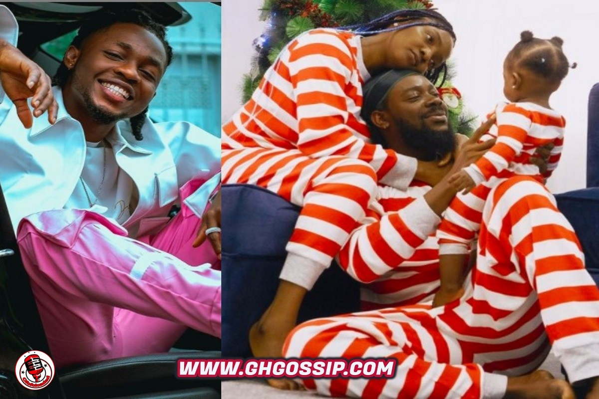 """""""Wetin Concern You""""- Reactions As Omah Lay Reacts To Adekunle Gold's 2-Year Anniversary Date With Wife, Simi"""