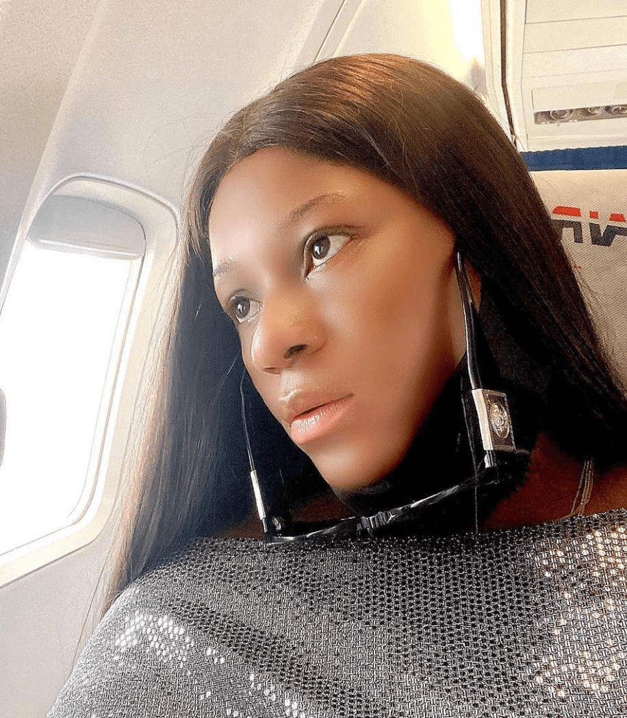 Destiny Etiko Jets Off To Unknown Location To Relax – PHOTOS