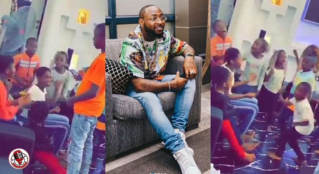 This Made Me So Happy – Davido Reacts To VIDEO Of Some Kids Singing And Jamming To His Jowo