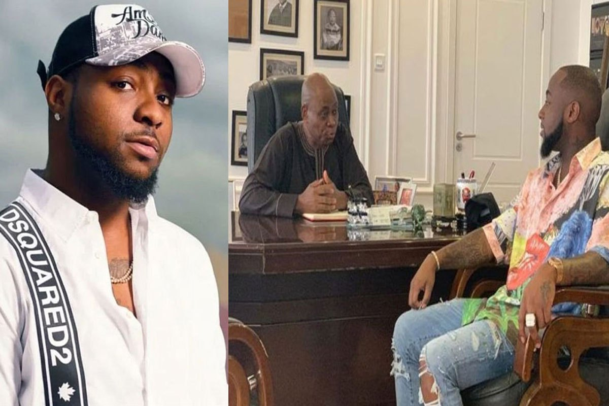 """""""I Dun Dey Chook Head Small Small"""" – Davido Says As He Finally Partakes In Family Business"""