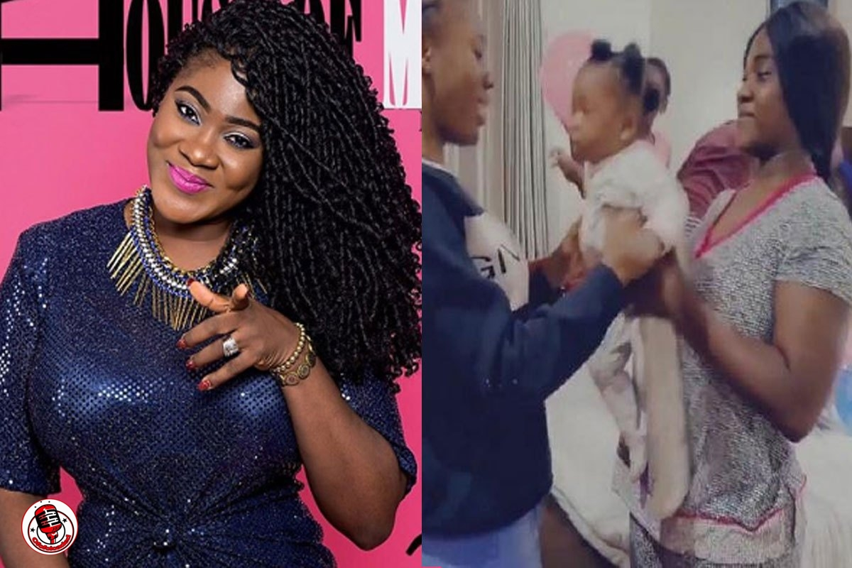 """""""I Was There When She Was Born Live"""" – Mercy Johnson Shows Off Lookalike Sister, Joy, As She Celebrates 21st Birthday (VIDEO)"""