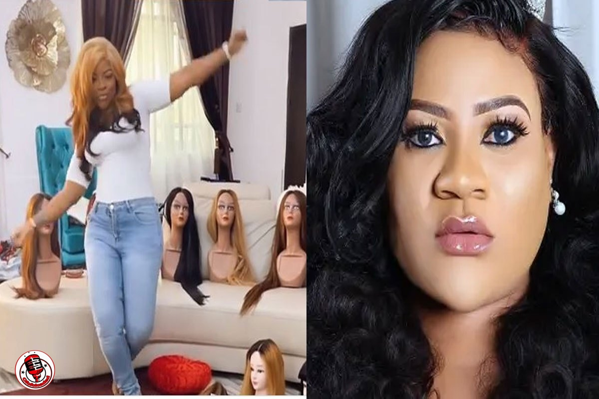 Actress Nkechi Blessing Publicly Begs Laura Ikeji To Gift Her A Wig