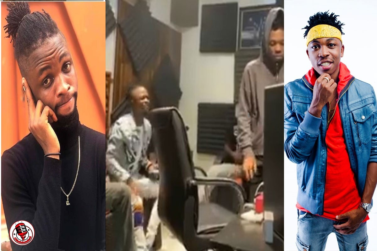 'I Trust Mayor, The Track Will Be A Hit' – Nigerians React As Laycon Hits The Studio With Mayorkun (VIDEO)
