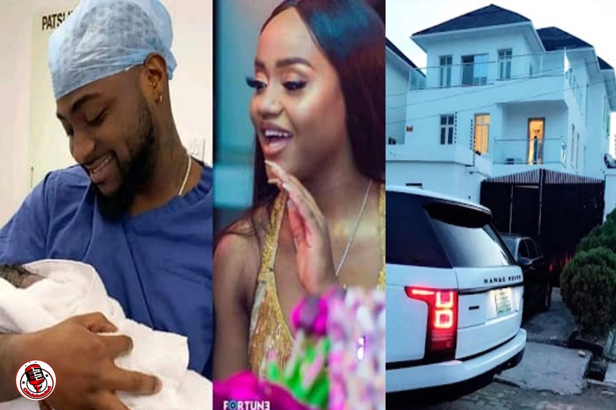 Chioma And Ifeanyi Reportedly Moves Into Davido's House In Lekki Amid Split Rumors