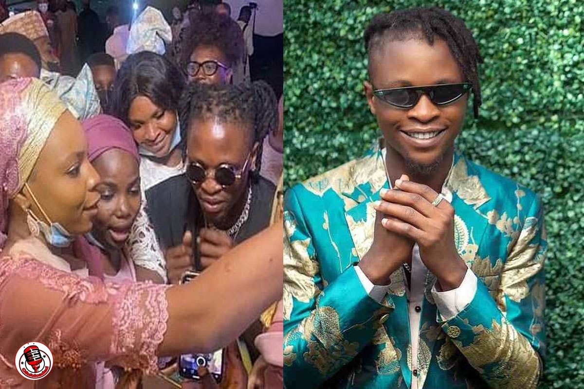 """""""He Is Here To Stay"""" – Icon Reacts as Laycon Performs At Wedding Of Ex-Speaker, Dimeji Bankole (VIDEO)"""